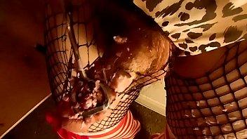 Mistress Lucy Diamond Cosplay Stockings Scene